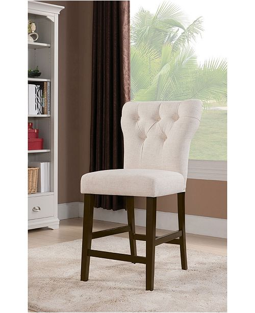 Acme Furniture Effie Counter Height Chair (Set of 2)
