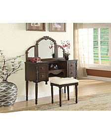 Ashton Vanity Desk & Stool