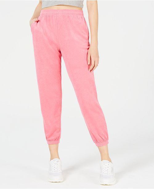 Juicy Couture Terry Jogger Pants