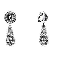 Nina Pave Teardrop Earringss