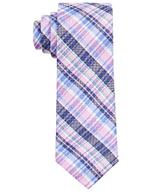 Lauren Ralph Lauren Big Boys Pink Plaid Tie