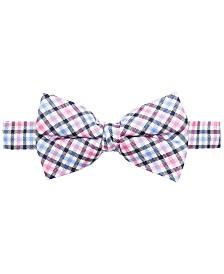 Lauren Ralph Lauren Big Boys Pink Gingham Bow Tie