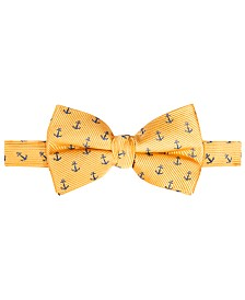 Lauren Ralph Lauren Big Boys Anchor Silk Bow Tie