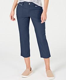 Petite Cuffed Capri Pants, Created for Macy's