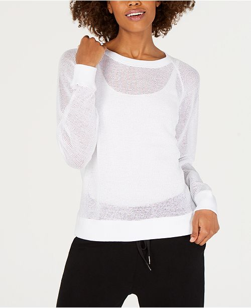 Eileen Fisher Cotton Crewneck Top