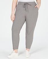 e696b8d105a4 Eileen Fisher Plus Size Drawstring Ankle Pants
