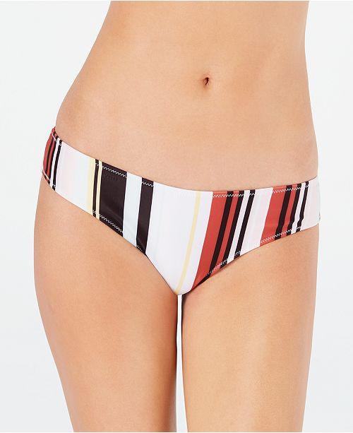 Volcom Earn Ur Stripes Cheeky Bikini Bottom