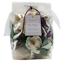 Aromatique Viola Driftwood Decorative Home Fragrance Bag with Botanicals