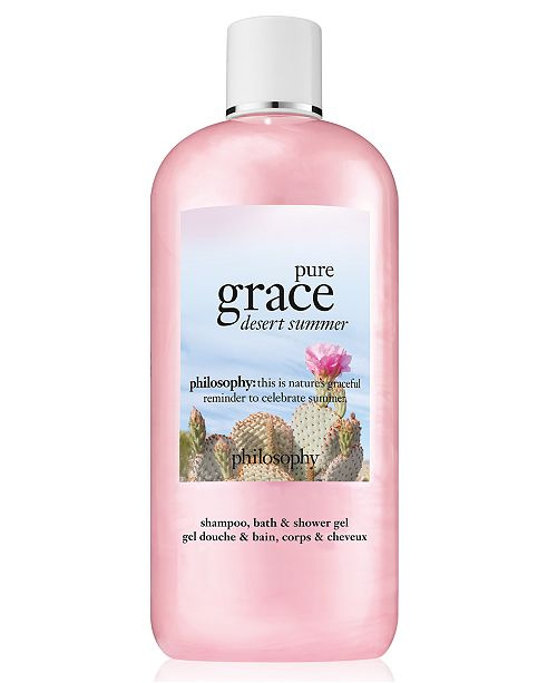 philosophy Pure Grace Desert Summer Shampoo, Bath & Shower Gel, 16-oz.