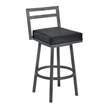 "Moniq 30"" Swivel Barstool, Quick Ship"