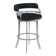 "Prinz 30"" Swivel Barstool, Quick Ship"
