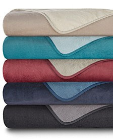 All Seasons Reversible Plush Blanket Collection