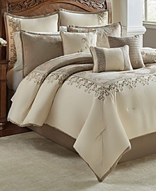 Hillcrest 9 Pc Queen Comforter Set