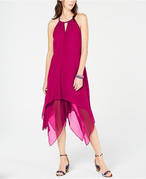 INC International Concepts I.N.C. Handkerchief-Hem Dress, Created for Macy's