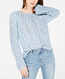 I.N.C. Pointelle Sweater, Created for Macy's