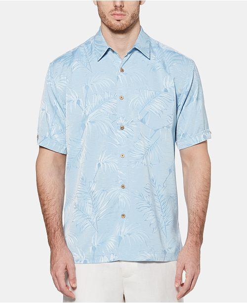 Cubavera Men's Floral Jacquard Shirt