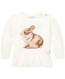 Polo Ralph Lauren Baby Girls Intarsia-Knit Sweater