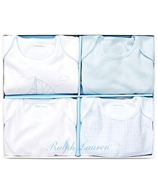 Polo Ralph Lauren Baby Boys 4-Pc. Bodysuit Gift Set