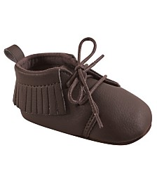 Hudson Baby Unisex Baby Moccasins, 1-Pack, 0-18 Months