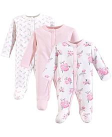 Unisex Baby Preemie Sleep Play, 3-Pack, Premie