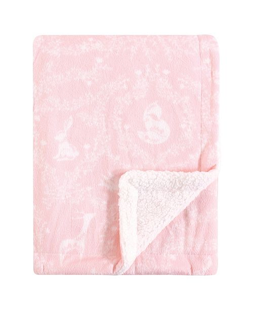 Baby Vision Yoga Sprout Mink Blanket with Sherpa Backing, One Size