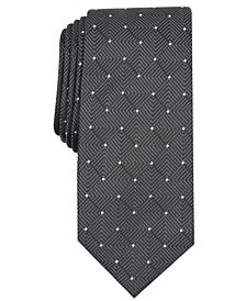 Men's Geometric Dot Tie, Created for Macy's