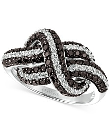 Le Vian Exotics® Blackberry Diamond Statement Ring (1-1/4 ct. t.w.) in 14k White Gold