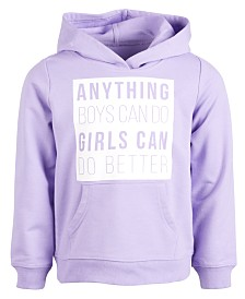 Ideology Toddler Girls Anything Graphic Hoodie, Created for Macy's
