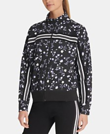 DKNY Sport Printed Zip Sweatshirt, Created for Macy's