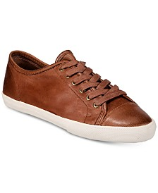 Frye Women's Mindy Low Lace Sneakers