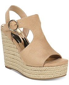 Carlos by Carlos Santana Winnie Ankle-Strap Wedge Sandals