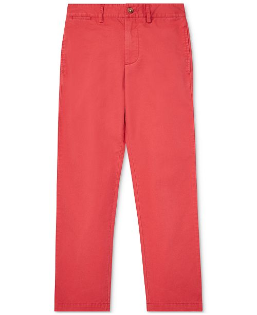 Polo Ralph Lauren Big Boys Cotton Twill Chino Pants