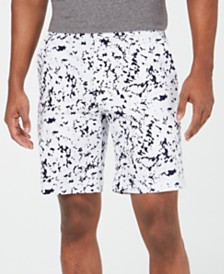 "DKNY Men's Ink Splatter 9"" Graphic Shorts"