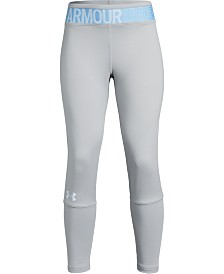 Under Armour Big Girls Armour HeatGear Novelty Cropped Leggings