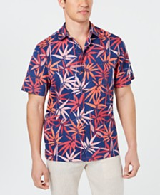 Tommy Bahama Men's Bamboo Groove Silk Shirt