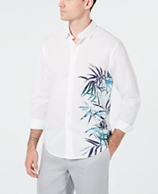 Tommy Bahama Men's Bamboo Beach Woven Shirt