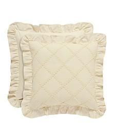 "Piper & Wright Anna 18"" Square Pillow"