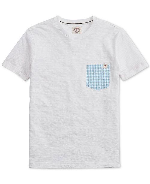 Brooks Brothers Men's Contrast Pocket T-Shirt
