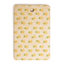 Deny Designs Wonder Forest Pineapple Express Rectangle Cutting Board