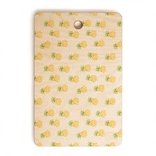 Deny Designs Pineapple Express Rectangle Cutting Board