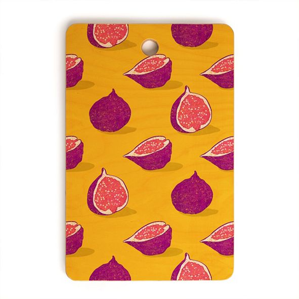 Deny Designs Fig Rectangle Cutting Board