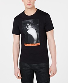 A|X Armani Exchange Men's Photo Graphic T-Shirt
