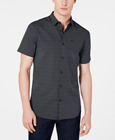 A|X Armani Exchange Men's Dotted Shirt