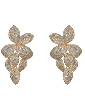 Nina Accessories PAVE EARRINGSS