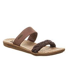 BEARPAW Women's Ash Sandals