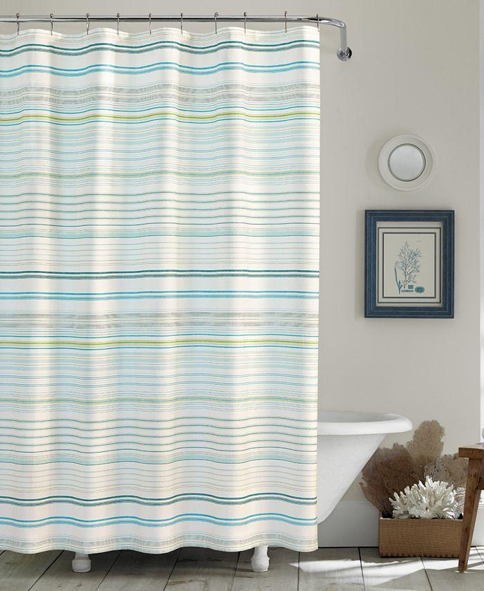 Tommy Bahama Home - Tommy Bahama La Scala Breezer Shower Curtain