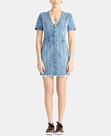 RACHEL Rachel Roy Denim Mini Dress
