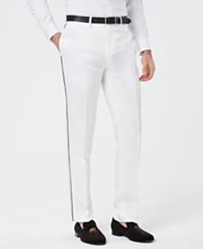Tallia Men's Slim-Fit Piped Pants