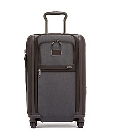 Alpha 3 International Expandable 2 Wheeled Carry-On Spinner Suitcase