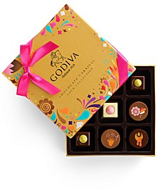Chocolatier 9-Pc. Chocolate Festival Gold Collection Gift Box